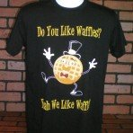 Do You Like Waffles? Dancing Waffle T-Shirt