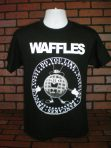 Do You Like Waffles? Presidential Seal Black T-Shirt