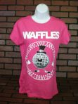 Do You Like Waffles? Presidential Seal Pink T-Shirt